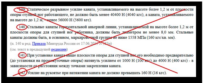 Действующие требования правил утратят силу. ч1